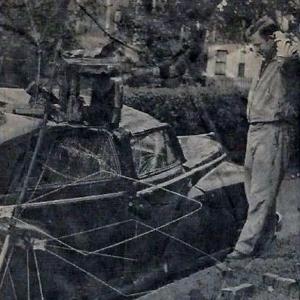 1954 Hurricane damage